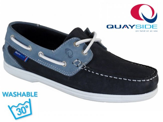 Bermuda Machine Washable Leather Boat Shoe