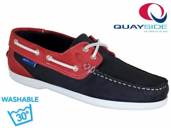 Bermuda Ladies Deck Shoe. WASHABLE