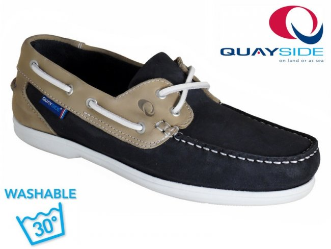 Bermuda Machine Washable Leather Deck Shoe