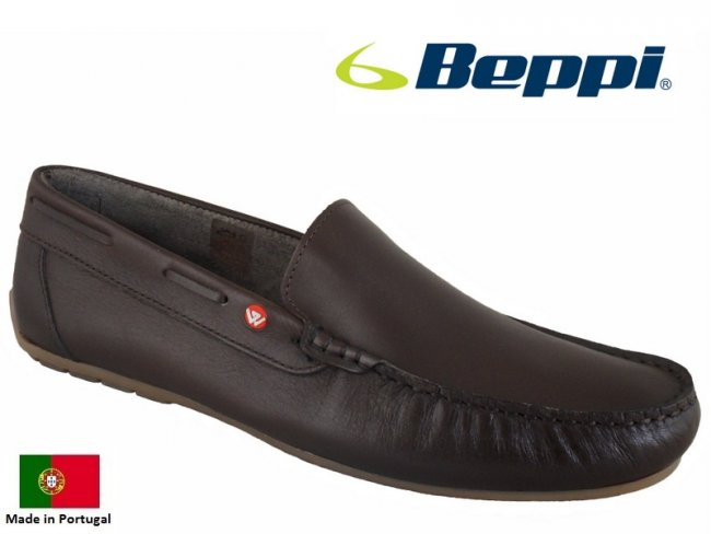 Marina Slip On Leather Mens Boat Shoes Size 7