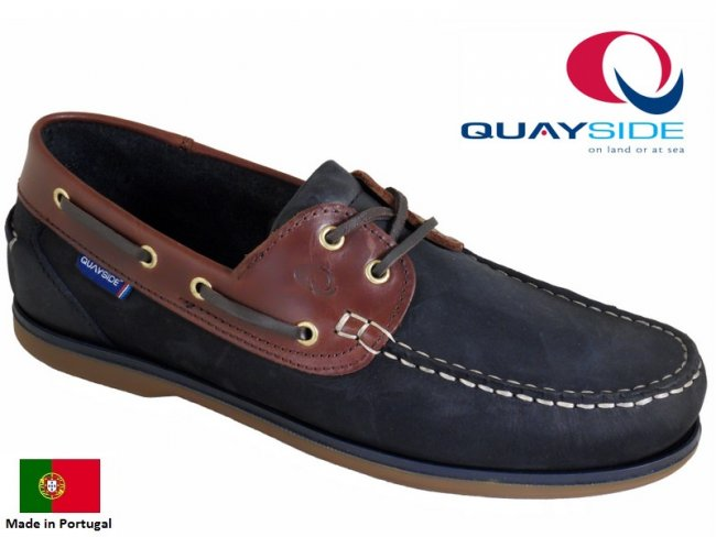 Ladies Clipper Quality Leather Deck Shoe