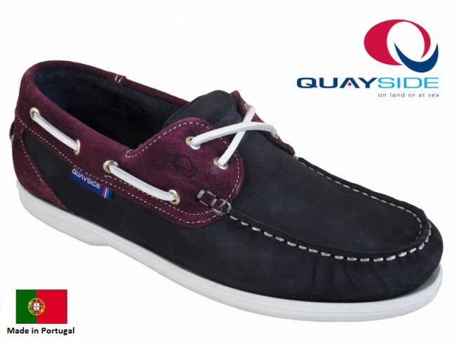 Quayside Bermuda Quality Boat Shoes SIZE 8