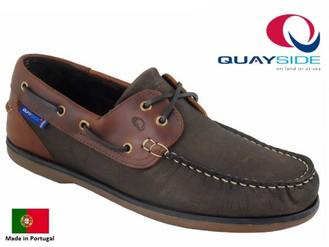 Clipper Stylish Leather Boat Shoes Size 7
