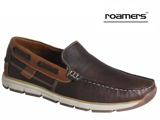 Roamers Superlite Leather Deck Shoes (Size 11)