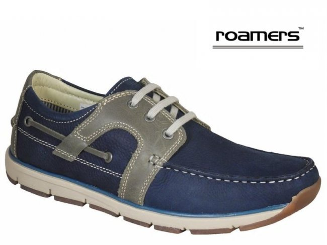 Roamers Superlite Quality Lace up Boat Shoes