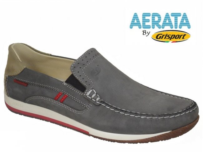 Aerata by Grisport Premium Slip on Boat Shoes