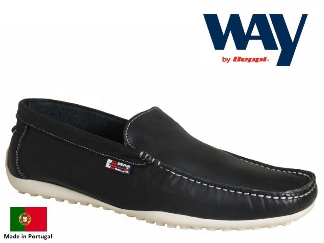 Soft Leather Slip On Deck Shoes