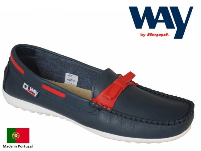 Leather Slip On Boat Shoes. SLIM FIT
