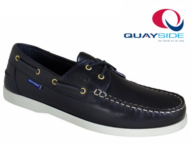 Ladies Quality Leather Deck Shoes (Size 3.5 Only)