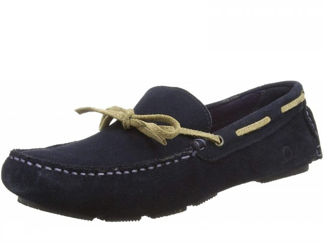 Riley Mens Suede Leather Boat Shoes SIZE 10