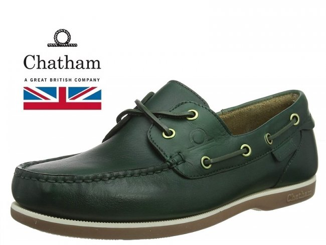 Chatham Newton Green Made In Britain SIZE 13