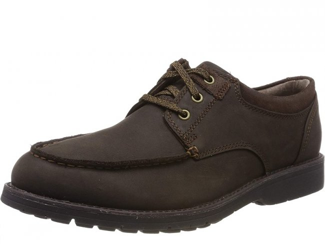 Mens Hush Puppies Beauceron Brown Size 10 Only