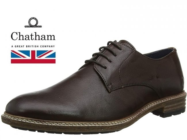 Mens Chatham Melbury Derby - Quality Leather Shoes