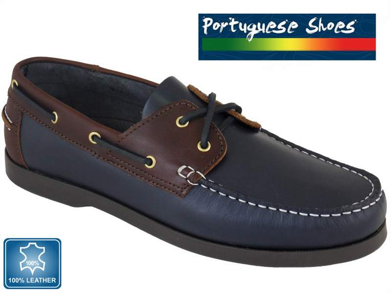 Quality Portuguese Leather Womens Boat Shoes