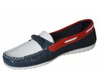 Quality Leather Slip On Boat Shoes SLIM FIT