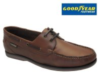 Goodyear Clipper Brown Leather Deck Shoe SALE!!