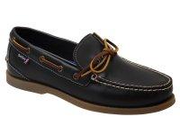 Saunton G2 Polished Leather Boat Shoes