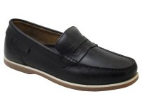 Faraday Mens High Quality Leather Boat Shoes
