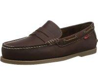 Cuba Premium Leather Mens Boat Shoes Size 9