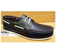 Beppi Mens Quality Boat Shoes Razor Cut Sole