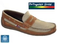 Mens Loafer Boat Shoe with (SIZE 7)