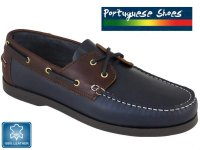 Mens Leather Boat Shoes with FREE UK DELIVERY!